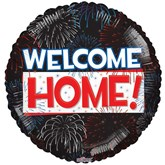 """Welcome Home Fireworks 18"""" Foil Balloon"""