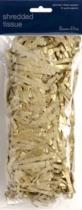 Gold Shredded Tissue Paper