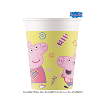 Peppa Pig Paper Party Cups 8pk