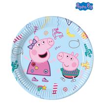 Peppa Pig 23cm Large Paper Plates 8pk
