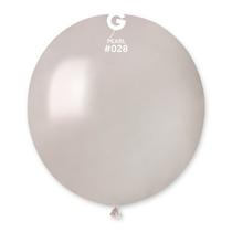 "Gemar Metallic Pearl 19"" Latex Balloons 10pk"