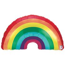 """Rainbow 34"""" Foil Balloon"""