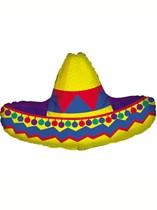 """Mexican Sombrero 34"""" Supershape Foil Balloon"""