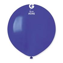 """Gemar Standard Navy Blue 19"""" Latex Balloons 10pk"""
