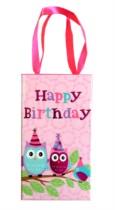 Owl Print Happy Birthday Jewellery Gift Box