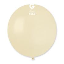"Gemar Standard Ivory 19"" Latex Balloons 10pk"