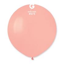 "Gemar Standard Baby Pink 19"" Latex Balloons 10pk"