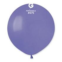 "Gemar Standard Periwinkle 19"" Latex Balloons 10pk"