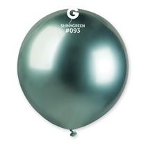 "Gemar Shiny Green 1.5ft (19"") Latex Balloons 25pk"
