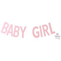 Baby Girl Pink Letter Banner 2M