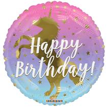 "Happy Birthday Unicorn 18"" Foil Balloon"