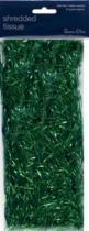 Green Metallic Shredded Tissue Paper