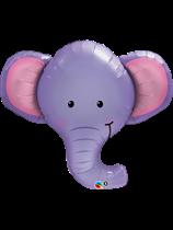 "Ellie The Elephant 39"" SuperShape Foil Balloon"