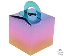 Rainbow Ombre Gift Box Balloon Weight 8pk