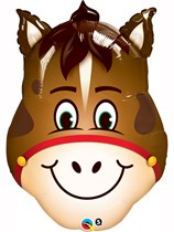 "Hilarious Horse 32"" SuperShape Foil Balloon"