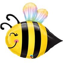 "Sweet Smiley Bee 38"" Foil Balloon"