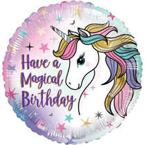 "ECO Have A Magical Birthday 18"" Foil Balloon"