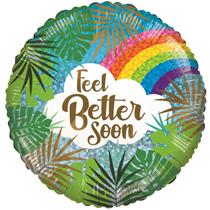 "ECO Feel Better Soon 18"" Foil Balloon"