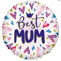 "ECO Best Mum 18"" Foil Balloon"