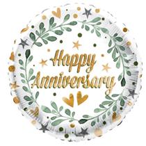 "ECO Happy Anniversary 18"" Foil Balloon"
