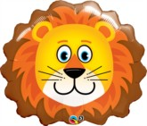"""Loveable Lion 29"""" SuperShape Foil Balloon"""