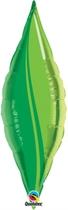 """Green Leaf 27"""" Foil Taper Swirl - Air Fill"""