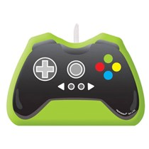 Level Up Game Controller Party Candle