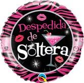"""Despedida De Soltera 18"""" Foil Balloon"""