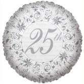 """25th Anniversary Foil Balloon 18"""""""