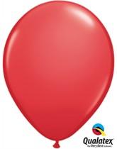 "Qualatex Standard 11"" Red Latex Balloons 6pk"