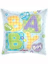 "18"" Baby Boy Letters Foil Balloon"