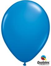 "Qualatex Standard 11"" Dark Blue Latex Balloons 6pk"