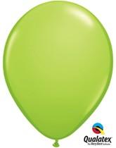 "Qualatex Fashion 11"" Lime Green Latex Balloons 6pk"