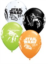 "Star Wars 11"" Latex Balloons 6pk"