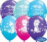 "Frozen 11"" Latex Balloons 25pk"