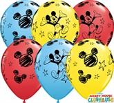 "Mickey Mouse 11"" Latex Balloons 25pk"