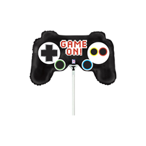 "Mini Game On Controller 14"" Foil Balloon"