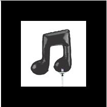 Double Musical Note Mini Shape Foil Balloon