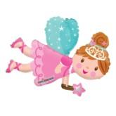 """Fairy Air Fill 14"""" Foil Balloon"""