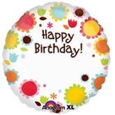"Happy Birthday Personalisable 18"" Foil Balloon"