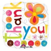 "18"" Thank You Foil Square Balloon"