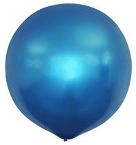 "Metallic Blue 20"" Latex Balloons 10pk"