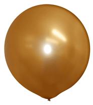 "Metallic Gold 20"" Latex Balloons 10pk"