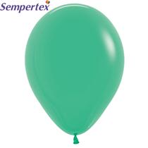 "Sempertex Fashion Green 12"" Latex Balloons 50pk"