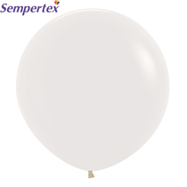 """Crystal Solid Clear 24"""" Latex Balloons 3pk"""