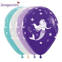"Sempertex Mermaid Assorted Colour 12"" Latex 25pk"
