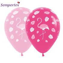 "Sempertex Flamingo Assorted Pink 12"" Latex 25pk"