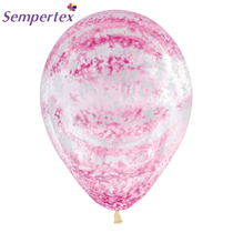 "Graffiti Rose Pink 11"" Latex Balloons 25pk"