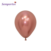 Sempertex Rose Gold Reflex 5 Inch Latex Balloons