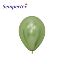 "Sempertex Reflex Lime Green 5"" Latex Balloons 50pk"